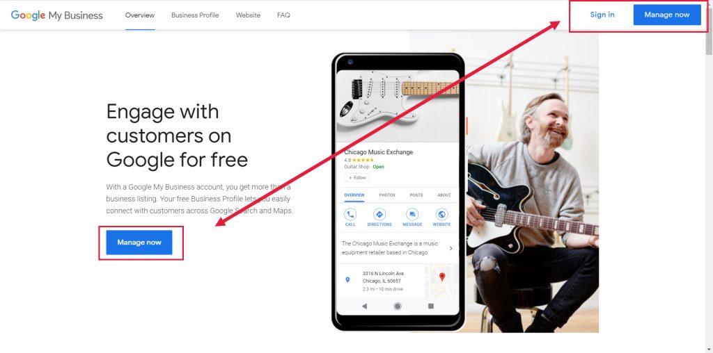 Comment Trouver Un Google My Business (gmb) Statique Pour Une Propriété Que Vous Gérez