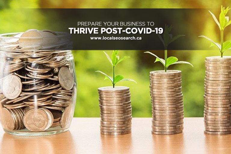 Préparez Votre Entreprise à Prospérer Après Le Covid 19